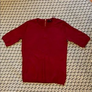 Premise short sleeve sweater